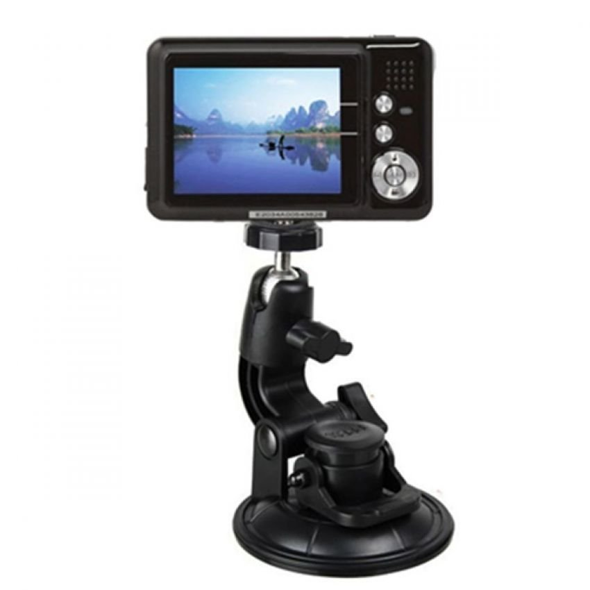 Blz Car Window Suction Cup Tripod - Hitam