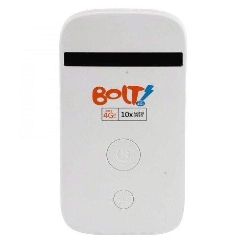 Bolt MF90 Mobile Hotspot Wifi - Super 4G LTE 72 Mbps + Kartu Perdana 8GB - Putih