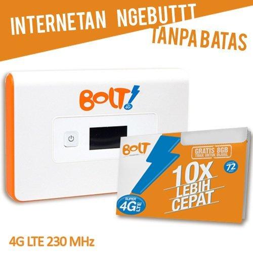 Bolt Orion 4G Wifi Super Cepat Super Ngebut Free Kuota 8 GB