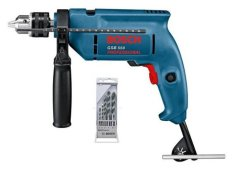 Bosch GSB 550 Professional + 5 Pcs Bor Multi Purpose
