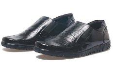 BSM Soga BFH 156 Sepatu Loafer / Formal / Kerja Pria - Kulit Asli - Elegan - Hitam