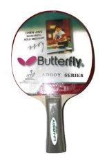 Butterfly Bat Tenis Meja F1 - Merah Hitam