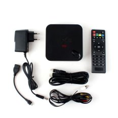 BUYINCOINS MX III Android 4.4 Quad Core Media Player TV BOX DDR3 2GB ROM 8GB HDMI EU Plug