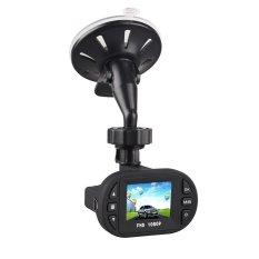 C600 Full HD 1080.12 IR LEDs Super Mini DVR Car Video Recorder Camera 1.5 Inch- INTL