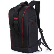 Caden K6 Nylon Camera Backpack Bag Case Gadget Bag with Tablet PC Pocket For Canon Nikon Sony DSLR Camera Camcorder