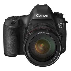 Canon EOS 5D Mark III - Lensa Kit 24-105mm – 22.3 MP – Hitam