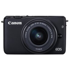 Canon EOS M10 KIT With Lens EF-M15-45mm - Hitam