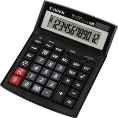 Canon Kalkulator WS 1210T - 12 Digit - Hitam
