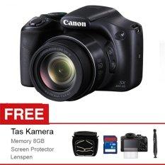 Canon Powershot SX-530HS - 16MP - 50xZoom - Hitam + Gratis Tas Kamera + Memory 8GB + Screen Protector + Lenspen