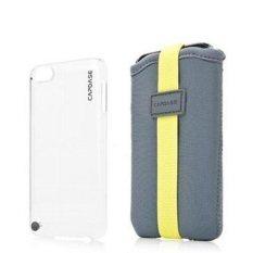 Capdase Apple iPod Touch 5 Case Karapace Value Set Finne DS Slipin - Abu-abu