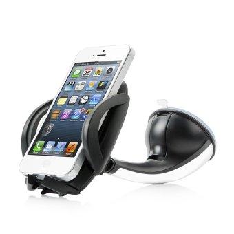 Holder Car Mobile 180 Hitam capdase asli car mount phone holder sport flyer hitam putih lazada
