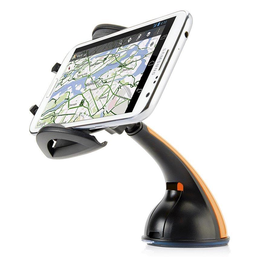 Capdase Car Mount Phone Holder - Sport Flyer - Hitam-Oranye