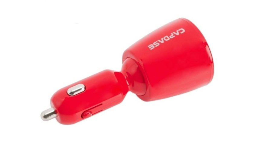 Capdase Dual USB Car Charger Revo T2 3.4 Amp - Red