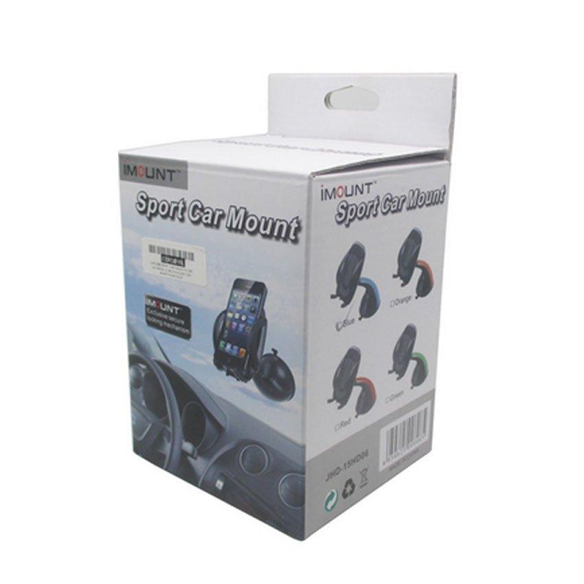 Capdase Sport Car Mount Flyer Universal Mobile Holder for Smartphone -OEM -- Black