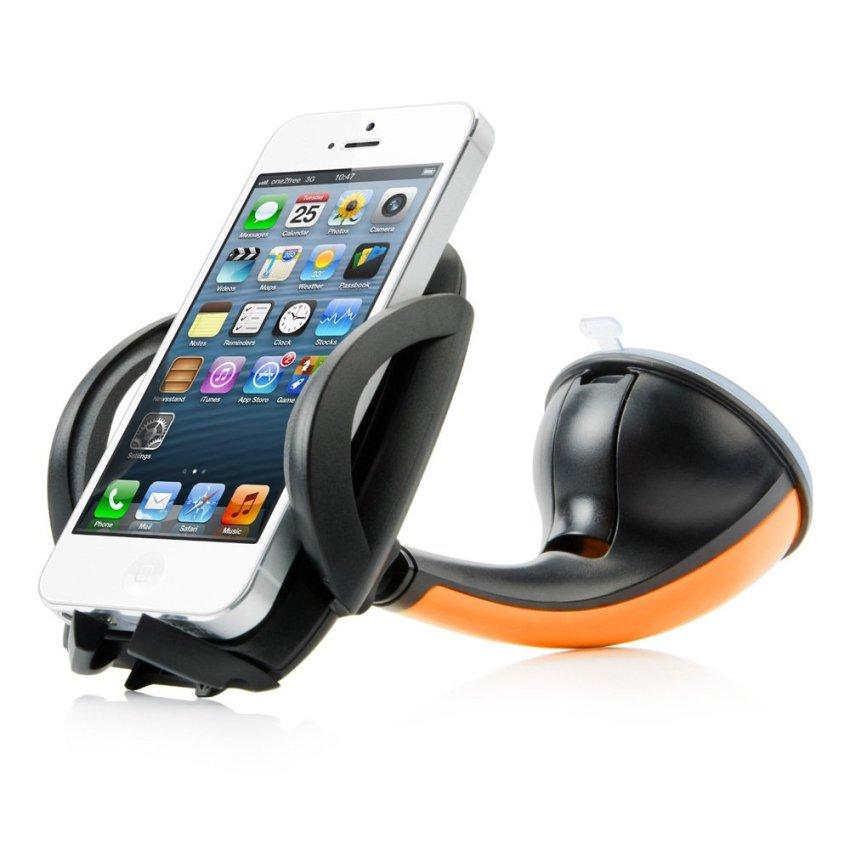 Capdase Sport Car Mount Flyer Universal Mobile Holder for Smartphone - Orange
