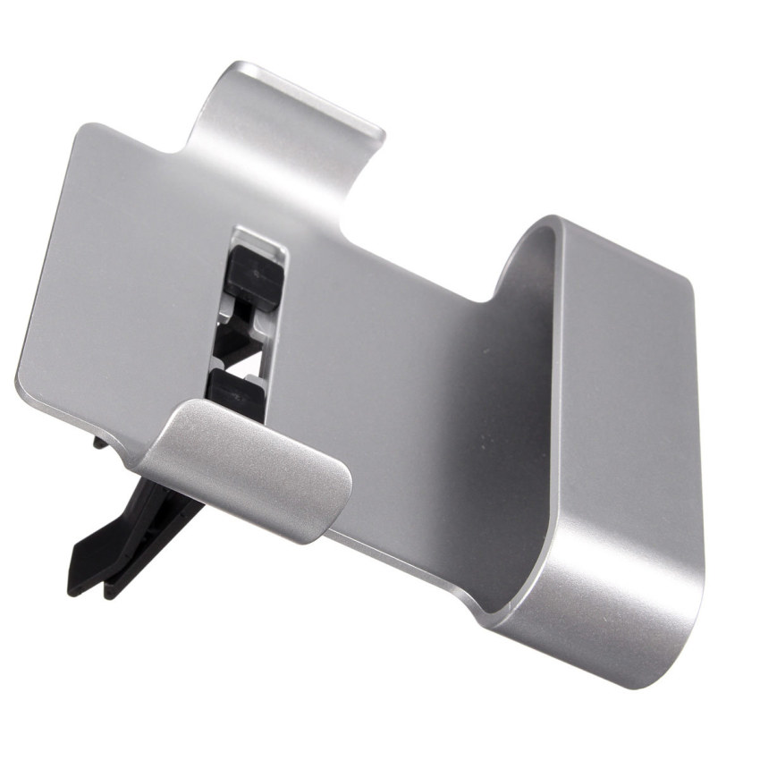Car Air Vent Clip Mount Holder Cradle Stand For iPhone 6 Galaxy S3 S4 S5 HTC M9 Silver (Intl)