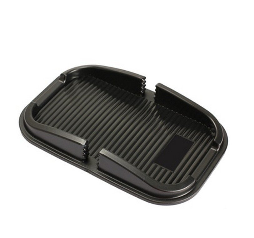 Car Auto Anti-skip Pad Mat Holder Stand for iPhone 4S 4 3G Cellphone - Black