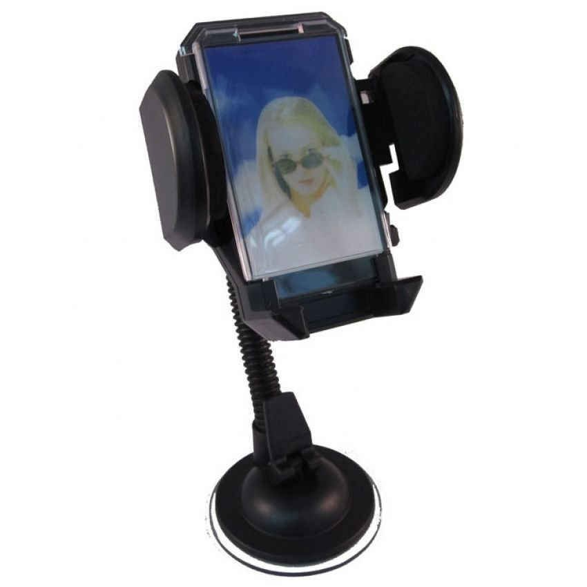 Car Holder Untuk Mobile Phone - Tripod-4 - Hitam