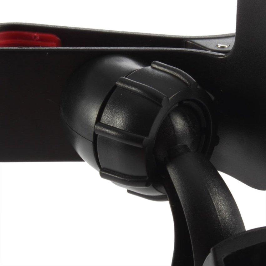 Car Mount Holder Bracket for iPhone 4 4s HTC Smartphones (Black) (Intl)