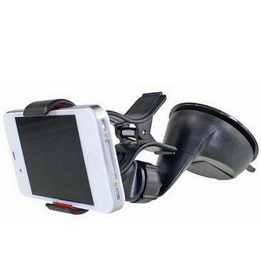 Car On-Board Navigation GPS Mobile Phone Holder for Smart Phone iPad Stents (Black) (Intl)