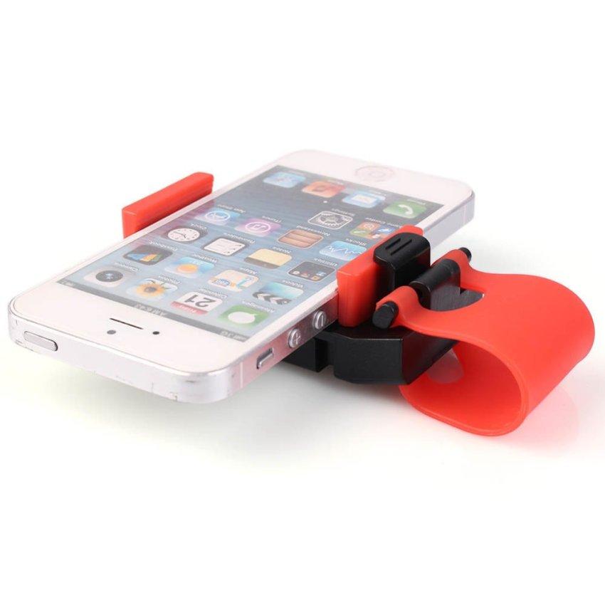 Car Steering Wheel Phone Holder (Intl)