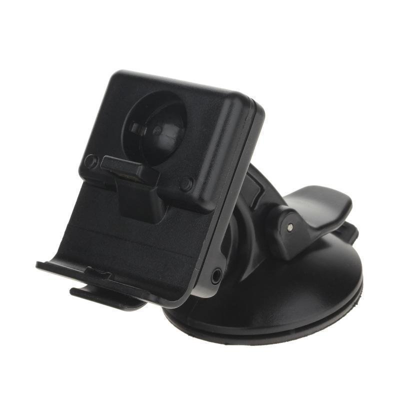 Car Windscreen Mount Holder w/ Suction Cup for Garmin NUVI 300 / 310 Series GPS Navigator (Black)