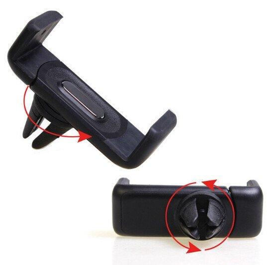 Card Buckle Navigation Mobile Holder(Black) (Intl)