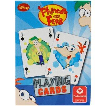Cartamundi Phineas & Ferb - Permainan Kartu