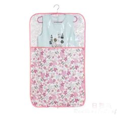 Cartior Hanging Cloth Transparent Window Dust Protector Storage Bag Cover Home Decor Storage Bag 60x130 (Pink Maple)