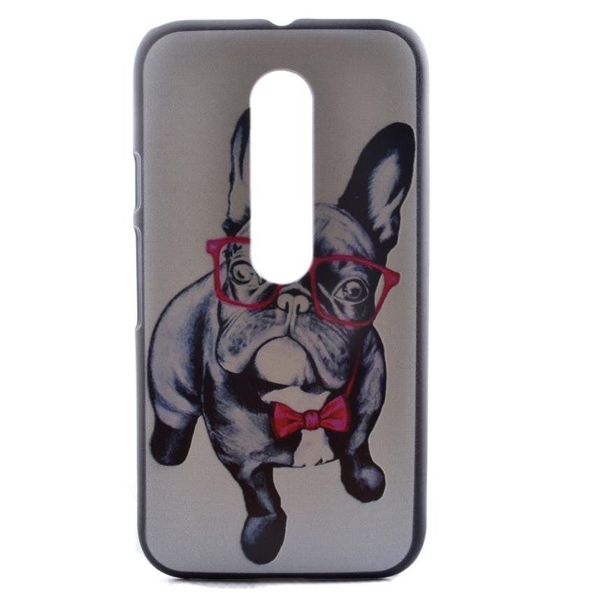 Case for Motorola Moto G3 Hard PC Snap-On Back Case Cover - Dog (Intl)