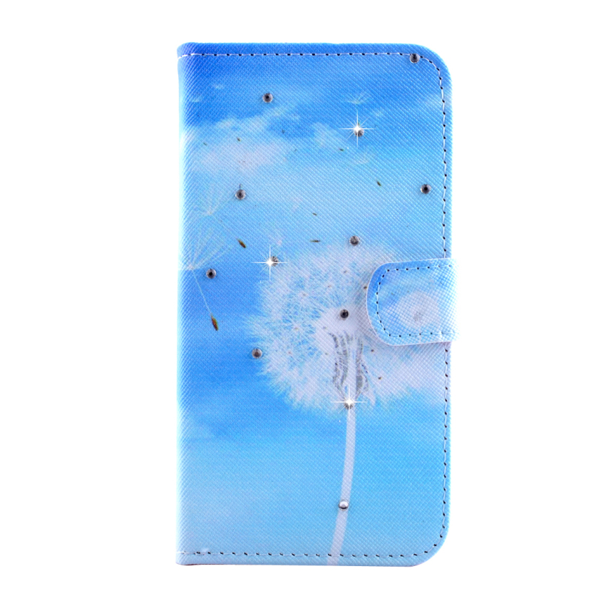 Case for Samsung Galaxy A5 Diamond Multi-functional Leather Flip Case Cover - Dandelion (Intl)