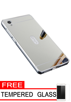 ... Free Tempered Glass. Source · jual case for vivo y51 aluminium bumper with mirror backdoor