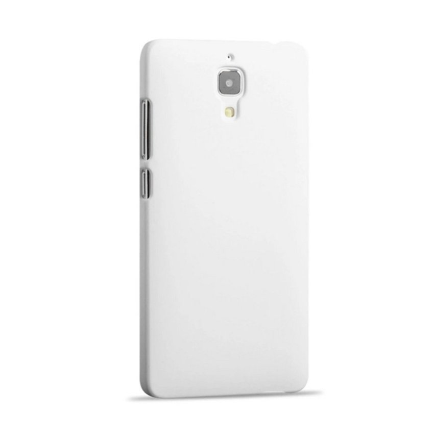 Case for Xiaomi Mi 4 Ultra Thin Slim Hard PC Snap-on Back Case - White (Intl)