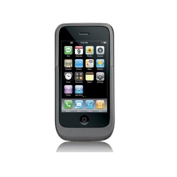 Case-Mate Hug iPhone 3G/3GS Wireless Charger - Abu-abu