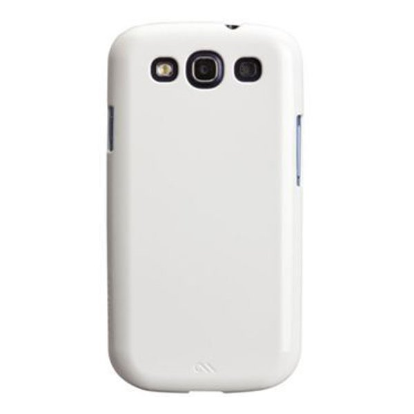 Case-Mate Samsung Galaxy S3 Barely There - Putih Mengkilap