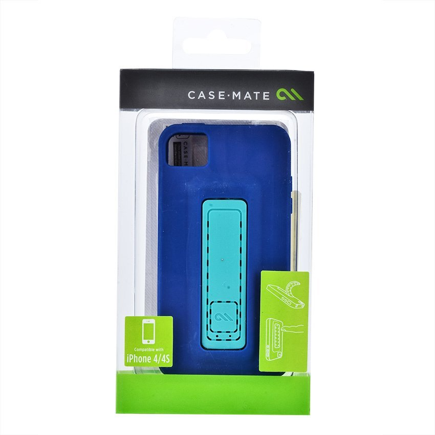 Case Mate Snap - iPhone 4/4S - Marine/Emerald