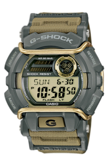 Casio G-Shock Men's Khaki Resin Strap Watch GD-400-9 - Intl