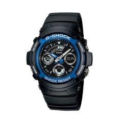 Casio Men's AW591-2A G-Shock Ana-Digi Chronograph Shock Resistant Sport Watch (Intl)