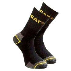Caterpillar Socks Original Size Fit 39 - 45 Hitam