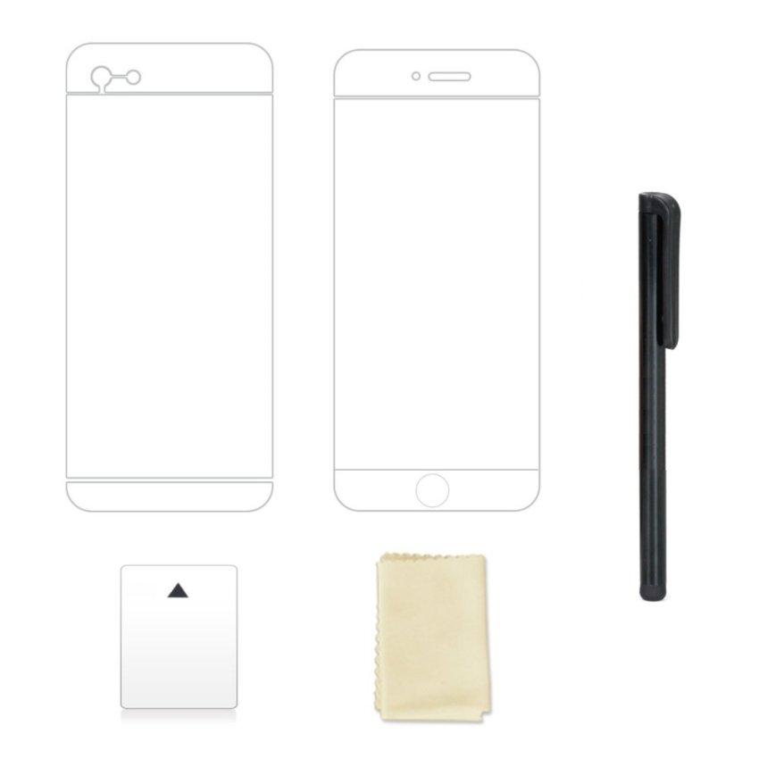 CD Line Patten Hard Slim Case Cover for iPhone 6 Plus / 6s Plus (Black) (Intl)