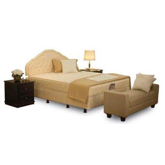 Central deluxe 90x200 kasur tanpa divan sandaran lazada for Divan 90x200