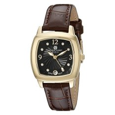 Charles-Hubert, Paris Women's 6907-G Premium Collection Analog Display Japanese Quartz Brown Watch (Intl)