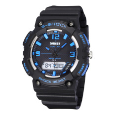 CITOLE 50M Waterproof SKMEI Men LED Digital Military Watch Dive Swim Dress Sports Watches Fashion Outdoor Men Wristwatches Men Clock (Intl)