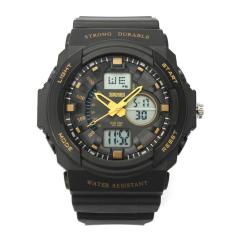 CITOLE Mens Outdoor Military Sport Wrist Watches (Gold)