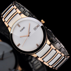 CITOLE YOME's Watch Is Brand Mens Watch Waterproof Fashion Quartz Watch Fine Steel Lovers Fashion Watch (1 X Men Watch)