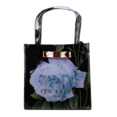Classic Ted Baker Women's Handbag Waterproof Shopping Bag(black / Flower)