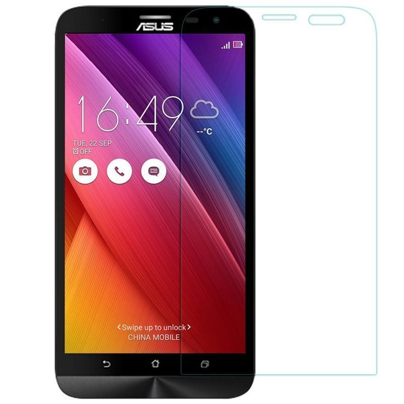 Clear Tempered Glass Screen Protector Film for Asus Zenfone 2 5.5 (Intl)