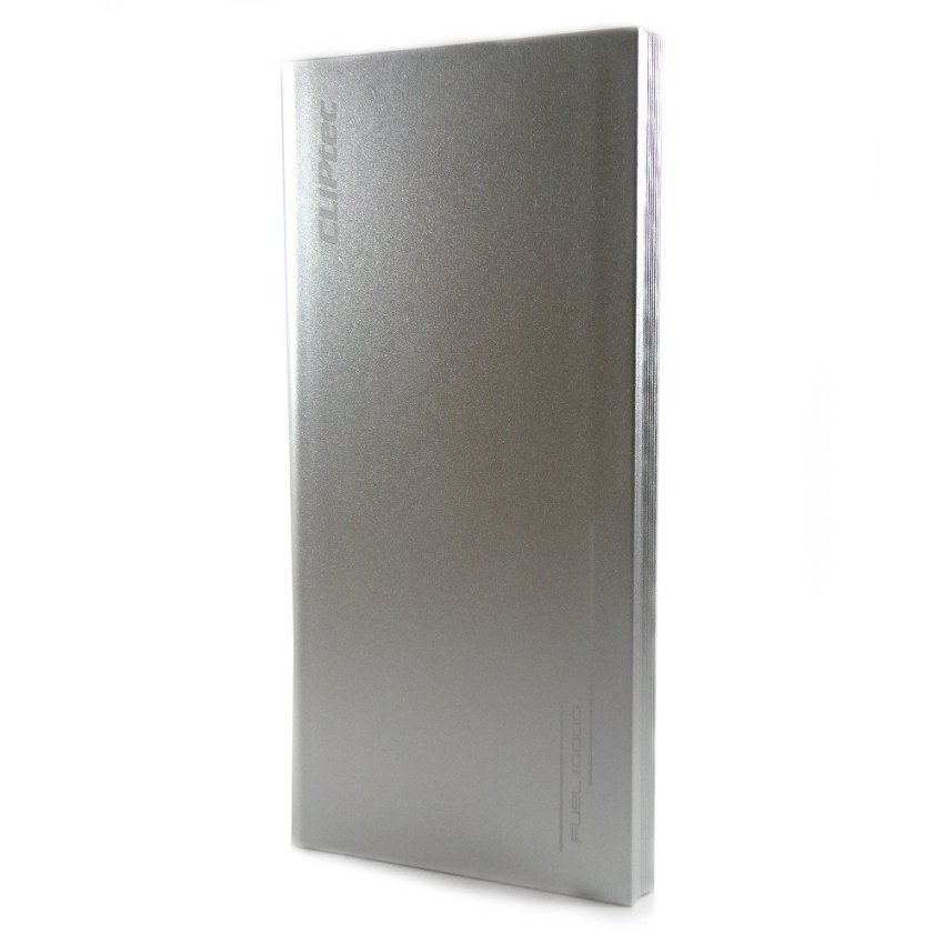 Cliptec Powerbank Polymer 10000 mAh PPP 110 ? Silver