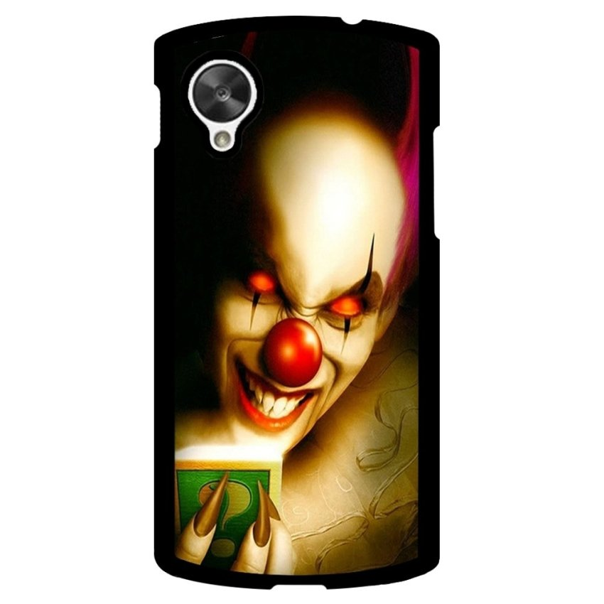 Clown Evil Pattern Phone Case for LG Nexus 5 (Multicolor)