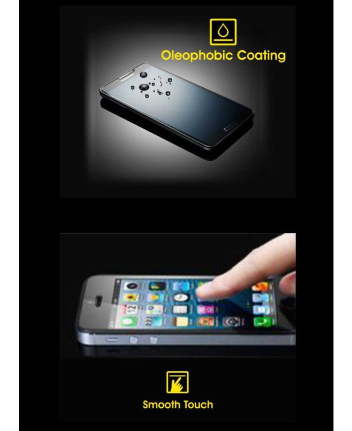 Cognos Glass Tempered Glass Screen Protector for LG G3